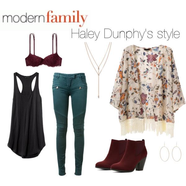 Haley's dunphy
